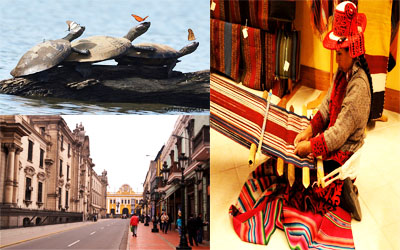Lima-Cusco-Amazon Jungle-Inka Trail-Titicaca 13 Days / 12 Nights